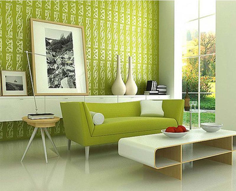 Hình ảnh cho mẫu sản phẩm sofa phòng khách nhỏ cho người mệnh Kim