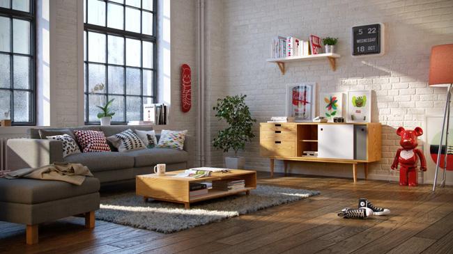 Hình ảnh cho mẫu sofa nhà chung cư giá rẻ vừa đẹp vừa hiện đại