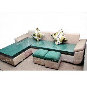 Hình ảnh đại diện mẫu sofa đẹp nỉ chữ L