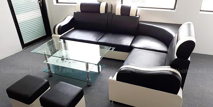 Hình ảnh Mẫu ghế sofa rẻ đẹp Hà Nội cho căn phòng khách đẹp