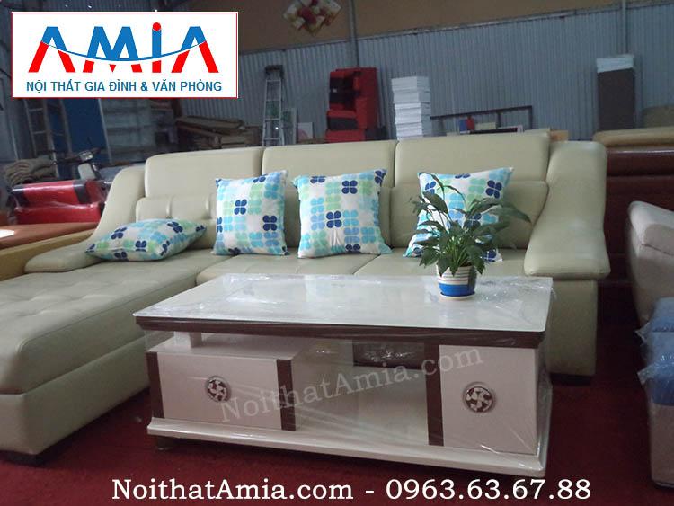 Hình ảnh cho mẫu sản phẩm bàn sofa, bàn trà mặt kính cao cấp nhập khẩu