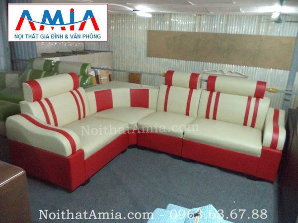 Hình ảnh cho mẫu sofa góc phòng khách giá rẻ tại Hà Nội