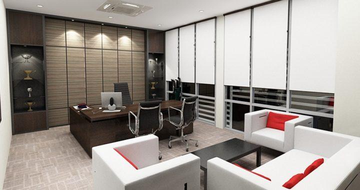 Hình ảnh cho mẫu sofa phòng làm việc giám đốc với phong cách thiết kế hiện đại, sang trọng