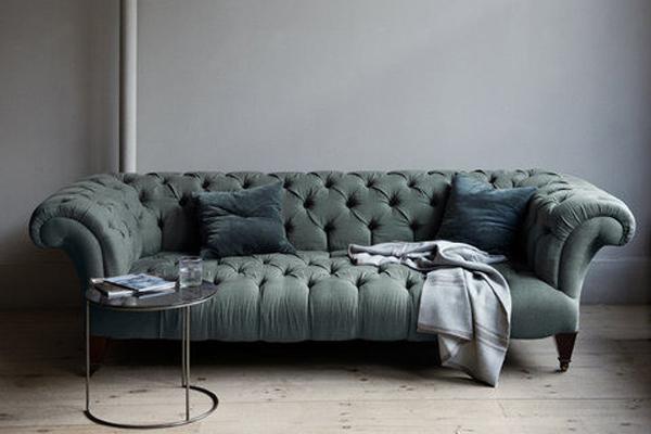 Hình ảnh cho mẫu ghế sofa phòng khách với thiết kế dạng văng mini