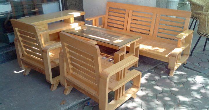 Hình ảnh bộ bàn ghế sofa gỗ giá rẻ phòng khách đẹp mê ly cho sự lựa chọn của bạn