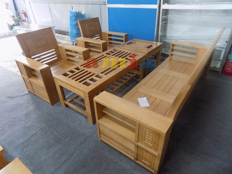 Hình ảnh cho mẫu bàn ghế gỗ phòng khách đẹp hiện đại, tinh tế
