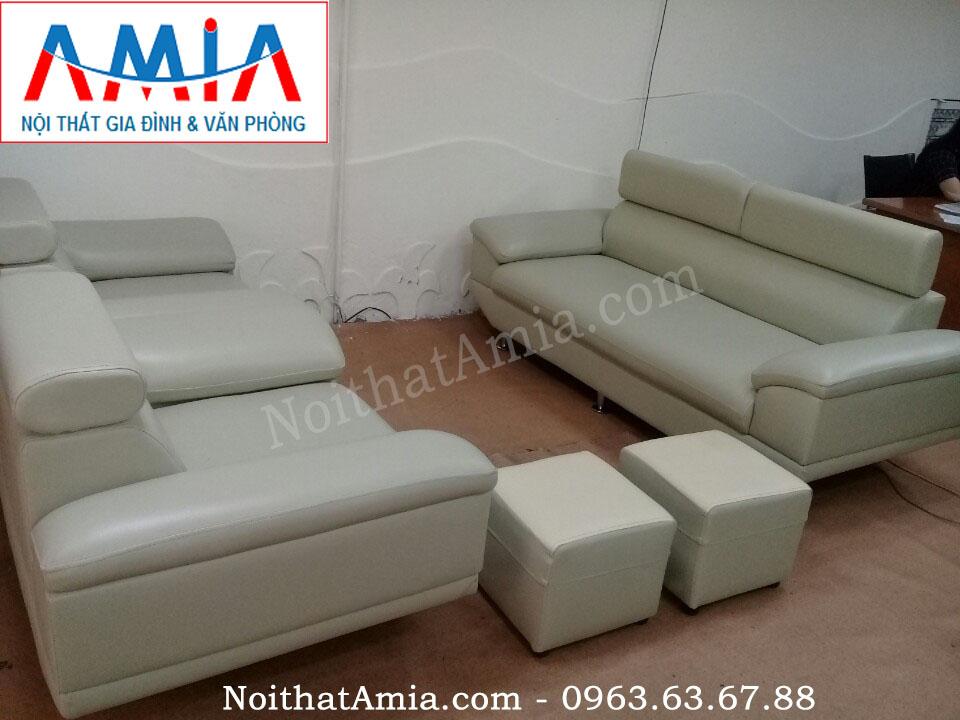 Hình ảnh cho mẫu sofa văng da phòng làm việc vừa đẹp vừa hiện đại lại sang trọng và lịch sự