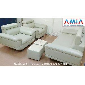 Hình ảnh Bộ sản phẩm bàn ghế sofa đẹp cho phòng làm việc nhà khách hàng
