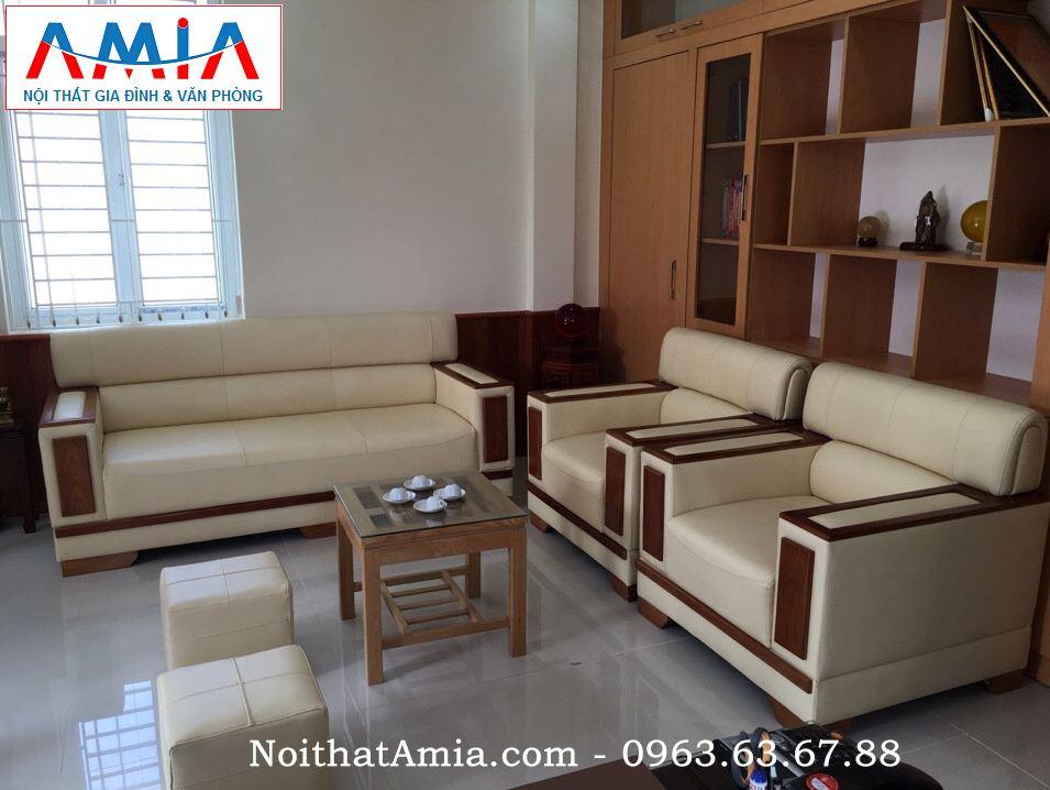 Hình ảnh cho mẫu ghế sofa da phòng làm việc vừa đẹp vừa hiện đại lại sang trọng và đẳng cấp