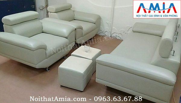 Hình ảnh cho mẫu sản phẩm mới sofa văng da phòng làm việc cho không gian căn phòng đẹp