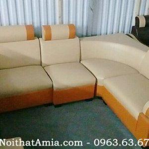 Hình ảnh cho mua sofa góc giá rẻ 2290k tại kho nội thất AmiA Hà Nội