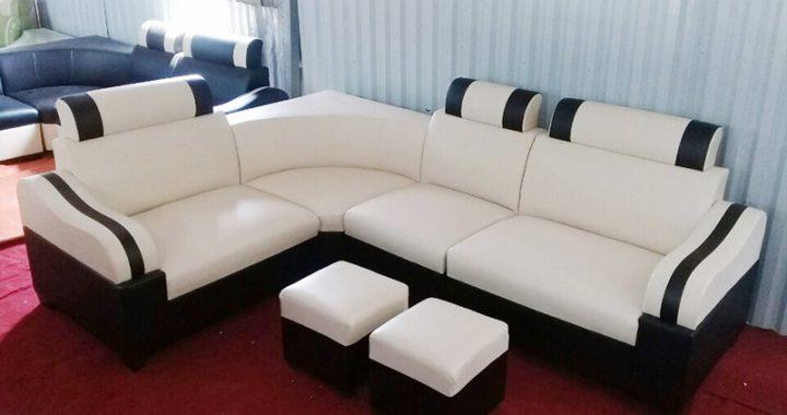 Hình ảnh cho sofa góc màu trắng hợp phòng khách hiện đại chỉ với giá 2290k