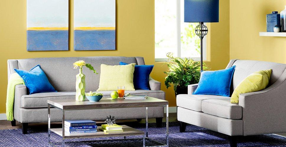 Hình ảnh cho mẫu sofa phòng khách nhỏ thiết kế hiện đại cho căn hộ chung cư