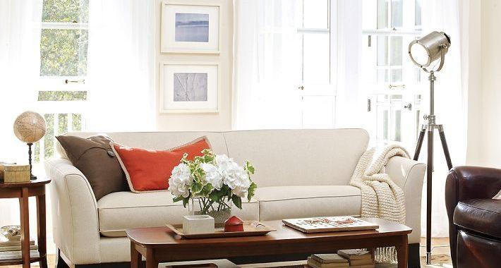 Hình ảnh cho mẫu sofa văng cho phòng khách nhỏ mang phong cách thiết kế hiện đại