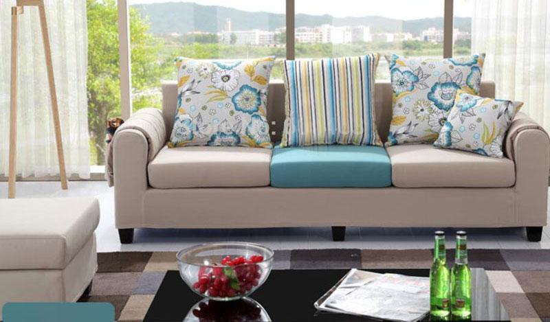 Hình ảnh cho mẫu sofa nhỏ xinh đẹp mê ly trong không gian phòng khách