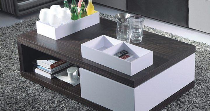 Hình ảnh cho mẫu bàn trà gỗ tự nhiên đẹp Hà Nội được thiết kế với phong cách hiện đại, sang trọng