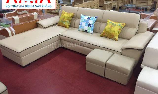 Hình ảnh cho mẫu sofa phòng khách nhỏ với thiết kế hiện đại, sang trọng và lịch sự