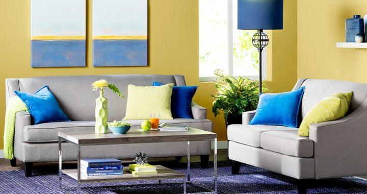 Hình ảnh cho mẫu ghế sofa nhỏ với thiết kế hiện đại cho phòng khách chung cư
