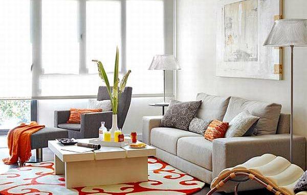 Hình ảnh cho ghế sofa nỉ cho phòng khách nhỏ với thiết kế dạng sofa văng
