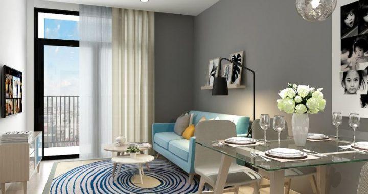 Hình ảnh cho mẫu sofa văng cho phòng khách chung cư đẹp mê ly khi được bài trí gọn gàng, ngăn nắp trong không gian phòng khách công ty