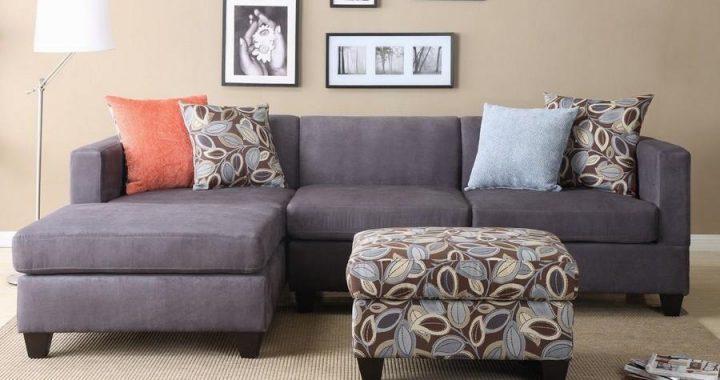 Hình ảnh cho mẫu ghế sofa nhỏ với thiết kế góc chữ L đẹp hiện đại