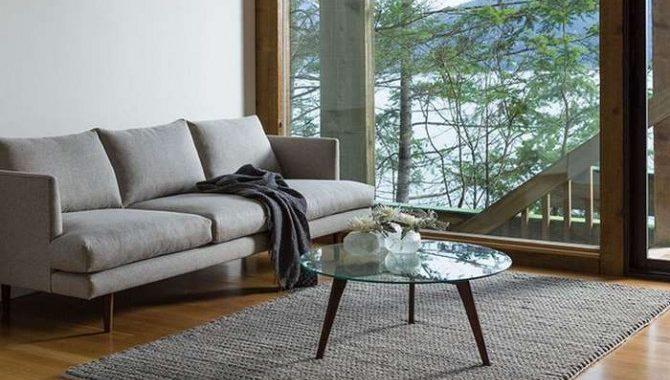 Hình ảnh cho mẫu bàn trà kính tròn Hà Nội đẹp hiện đại khi kết hợp cùng bộ ghế sofa văng