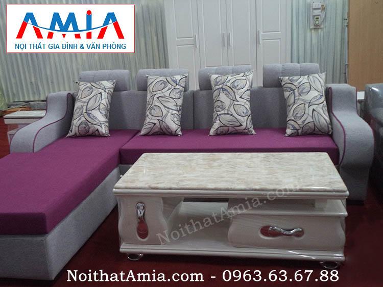 Hình ảnh cho mẫu bàn trà sofa gỗ mặt đá đế inox BTR 138