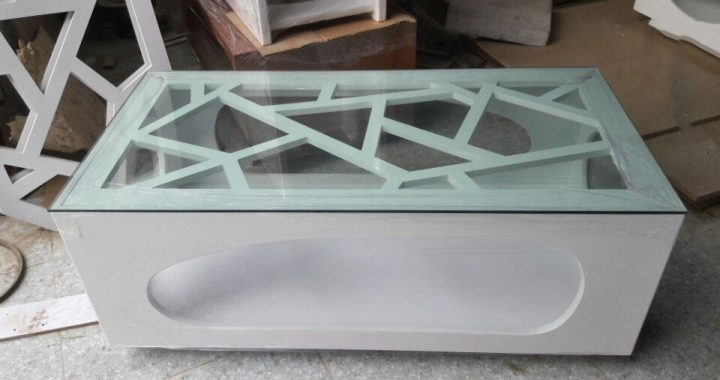 Hình ảnh bàn trà sofa gỗ đẹp Hà Nội với phong cách thiết kế hiện đại, sang trọng