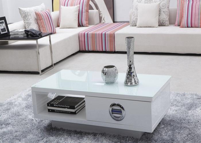 Hình ảnh cho mẫu bàn trà sofa đẹp kết hợp cùng bộ ghế sofa góc chữ L
