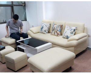 Hình ảnh đại diện cho mẫu ghế sofa văng đẹp Hà Nội