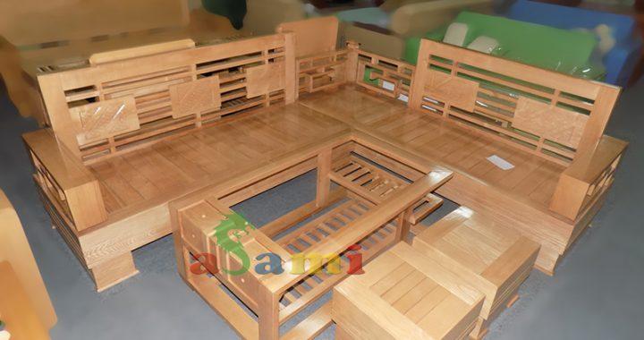 Hình ảnh cho mẫu ghế sofa gỗ đẹp giá rẻ tại Nội thất AmiA