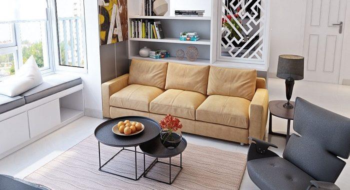 Hình ảnh cho mẫu ghế sofa văng đẹp trong không gian căn phòng khách hiện đại