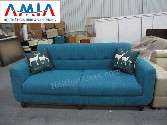 Hình ảnh cho ghế sofa nỉ dạng văng đẹp hiện đại cho không gian phòng khách hiện đại