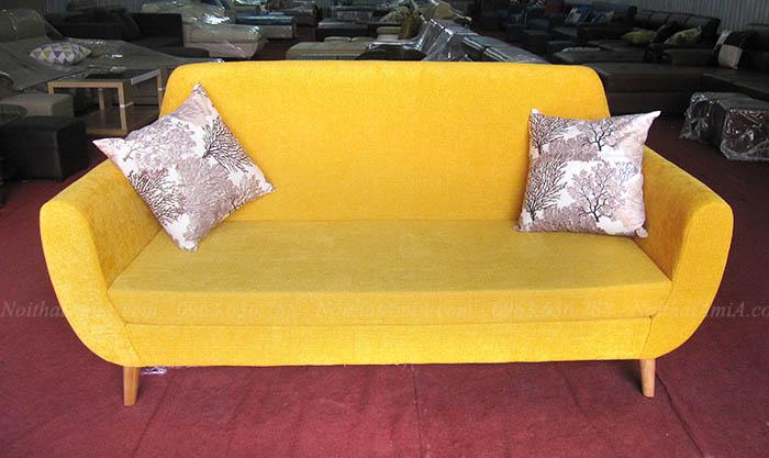 Hình ảnh Ghế sofa văng đẹp Hà Nội chụp tại Kho nội thất AmiA