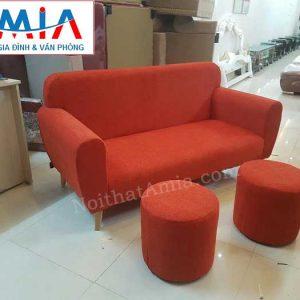 Hình ảnh cho mẫu ghế sofa văng nỉ nhung đẹp hiện đại