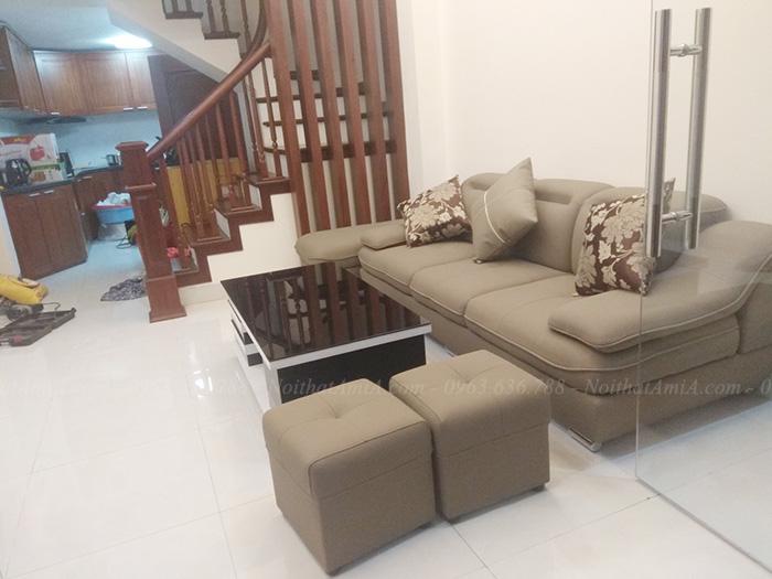 Hình ảnh Ghế sofa văng đẹp xinh cho phòng khách nhà khách hàng