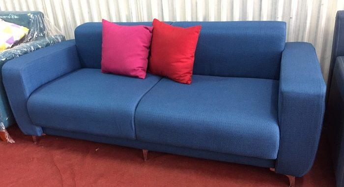 Hình ảnh cho mẫu ghế sofa văng mini đẹp hiện đại cho không gian phòng khách căn hộ chung cư