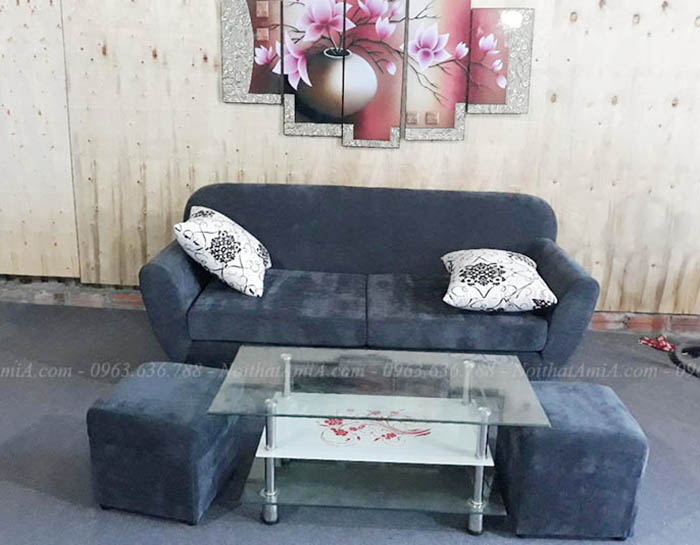 Hình ảnh Ghế sofa văng đẹp kích thước nhỏ xinh cho căn phòng khách đẹp