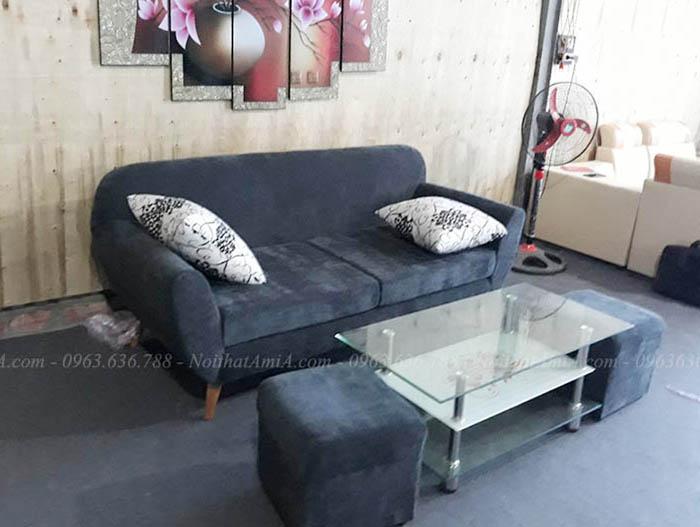 Hình ảnh Ghế sofa văng nhỏ đẹp hiện đại, trẻ trung cho căn phòng đẹp