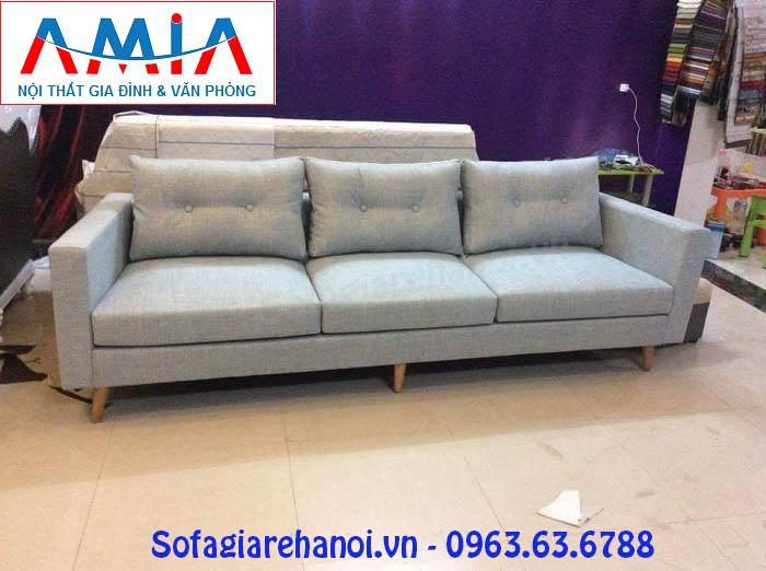 Hình ảnh cho bộ ghế sofa văng nỉ đẹp 3 chỗ cho không gian phòng khách đẹp