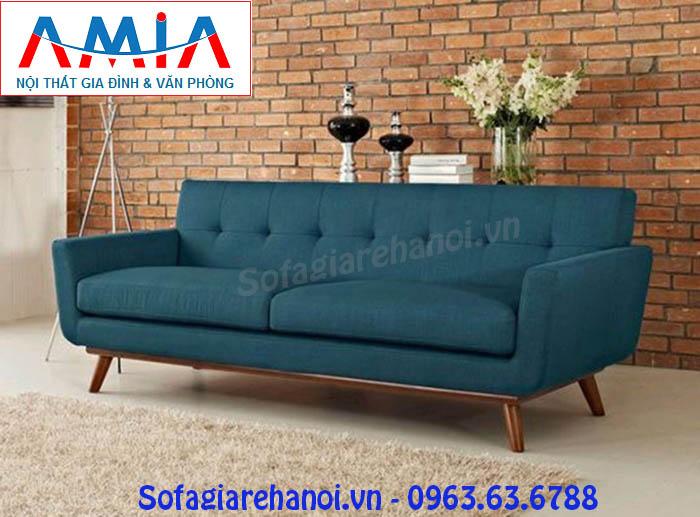 Hình ảnh cho mẫu ghế sofa văng nỉ đẹp hiện đại cho không gian gia đình bạn