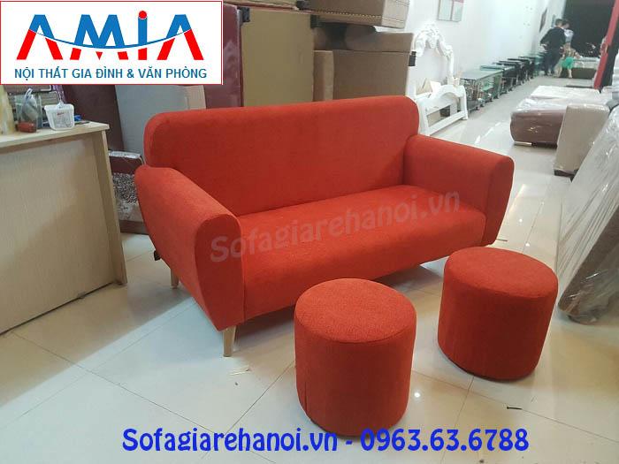 Hình ảnh cho mẫu ghế sofa văng nỉ đẹp Hà Nội với thiết kế hiện đại