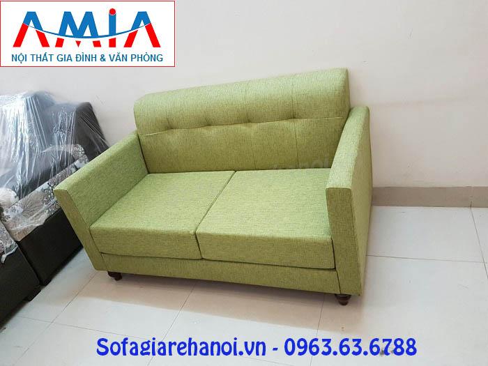 Hình ảnh cho mẫu ghế sofa văng nỉ kích thước nhỏ đẹp hiện đại cho phòng khách nhỏ