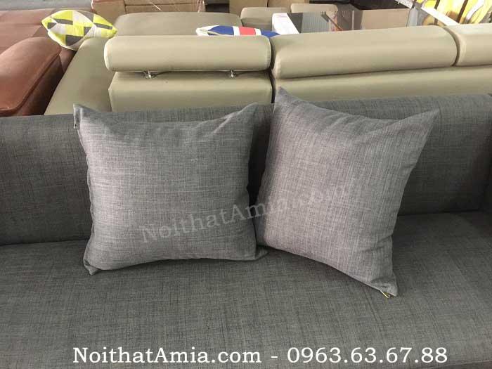 Hình ảnh cho mẫu gối sofa đẹp đồng nhất với bộ ghế sofa đẹp