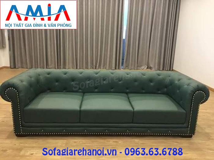 Hình ảnh cho ghế sofa văng da đẹp tại Nội thất AmiA