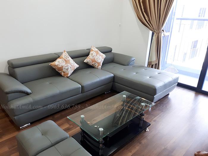 Hình ảnh Mẫu ghế sofa đẹp hiện đại cho căn hộ chung cư