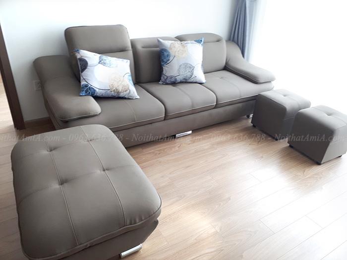 Hình ảnh Mẫu ghế sofa văng nhỏ xinh cho nhà đẹp