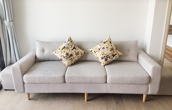 Hình ảnh Mẫu sofa văng đẹp hiện đại bài trí trong phòng khách nhà khách hàng