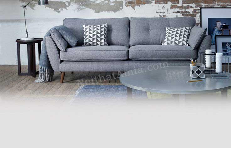 Hình ảnh cho mẫu sofa văng đẹp nhỏ xinh được bài trí trong không gian phòng khách đẹp