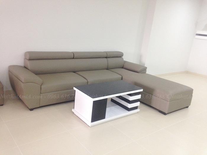 Hình ảnh Bộ sofa phòng khách đẹp kết hợp bàn trà sofa đẹp